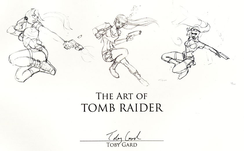 The Art of Tomb Raider: Lettered Edition