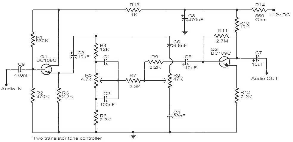 krisna soundsystem tone control 2 transistor. Black Bedroom Furniture Sets. Home Design Ideas