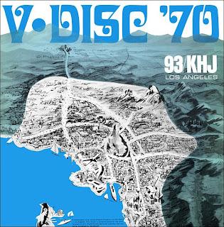 KHJ V-Disc 1970 LP Cover