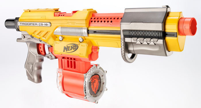 Outback Nerf Nerf Alpha Trooper Cs 18 Review Amp Usage Tips