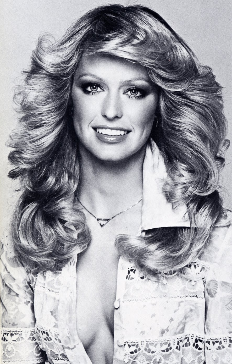 70 S Scarves: Lil' Blonde Darling: Farrah Fawcett!