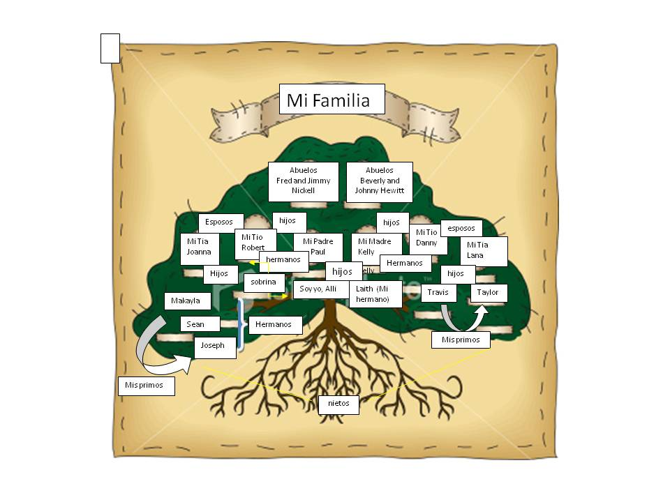 family trees in spanish - 960×720