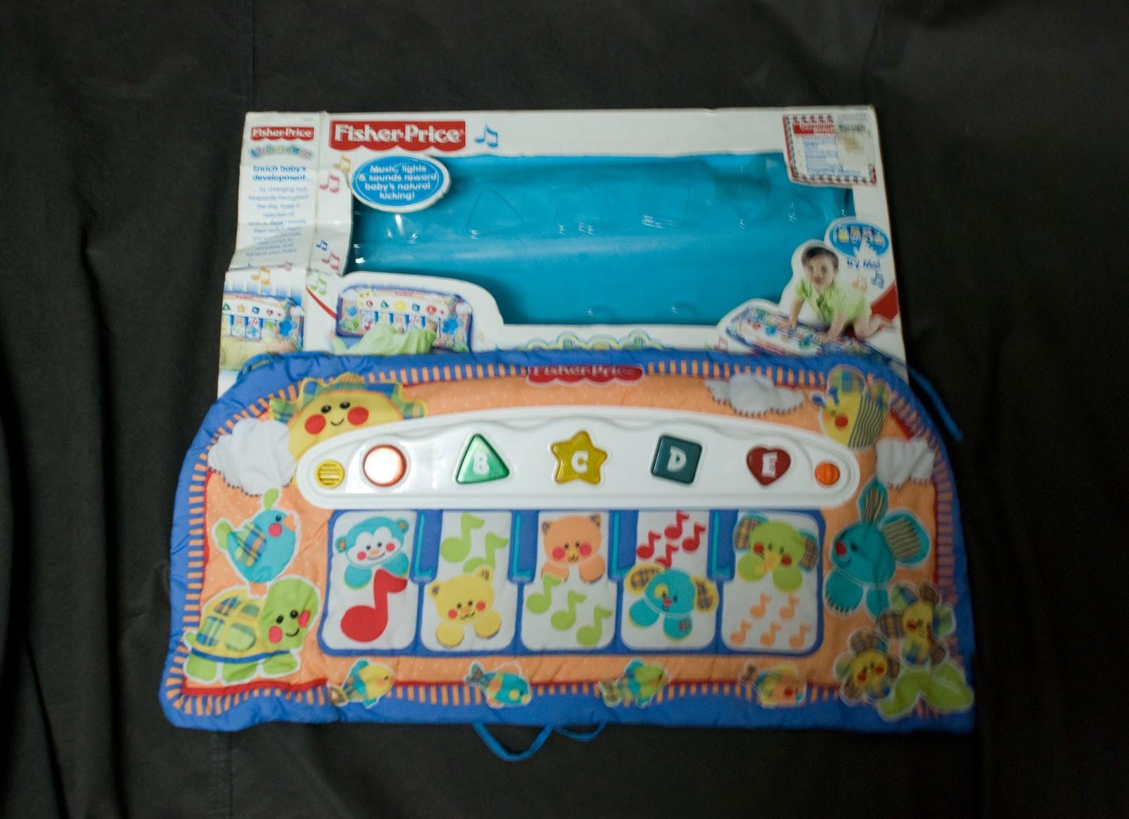 My Baby Fantasy Toyworld Fisher Price Kick Play Piano Baby