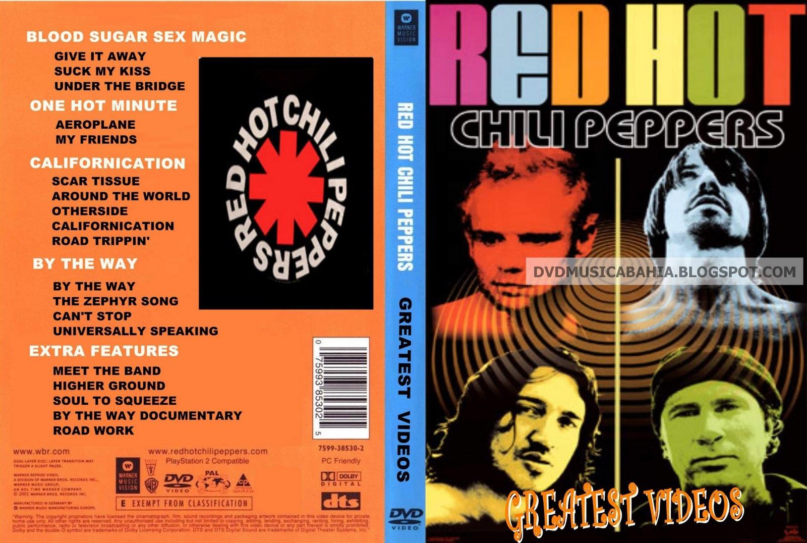 LOS MEJORES DVD DE MUSICA Y MAS....!!!!: RED HOT CHILI ...