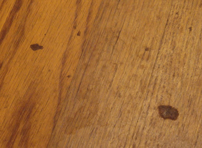 Linda's Bees: Getting Wax Off of my Hardwood Floors
