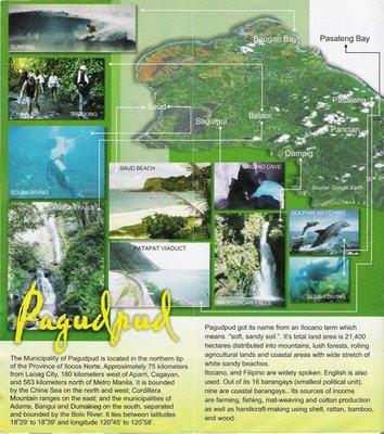 TRAVEL CENTRAL PHILIPPINES: Brochure - Pagudpud, Ilocos Norte