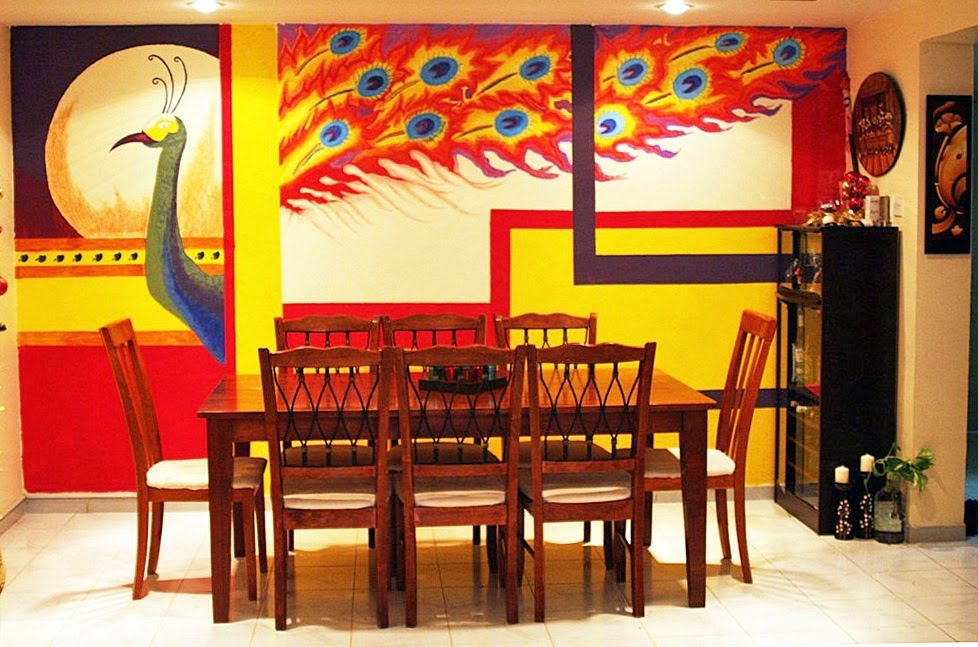 Ethnic Indian Decor: Beautiful Wall art eager to know how ...