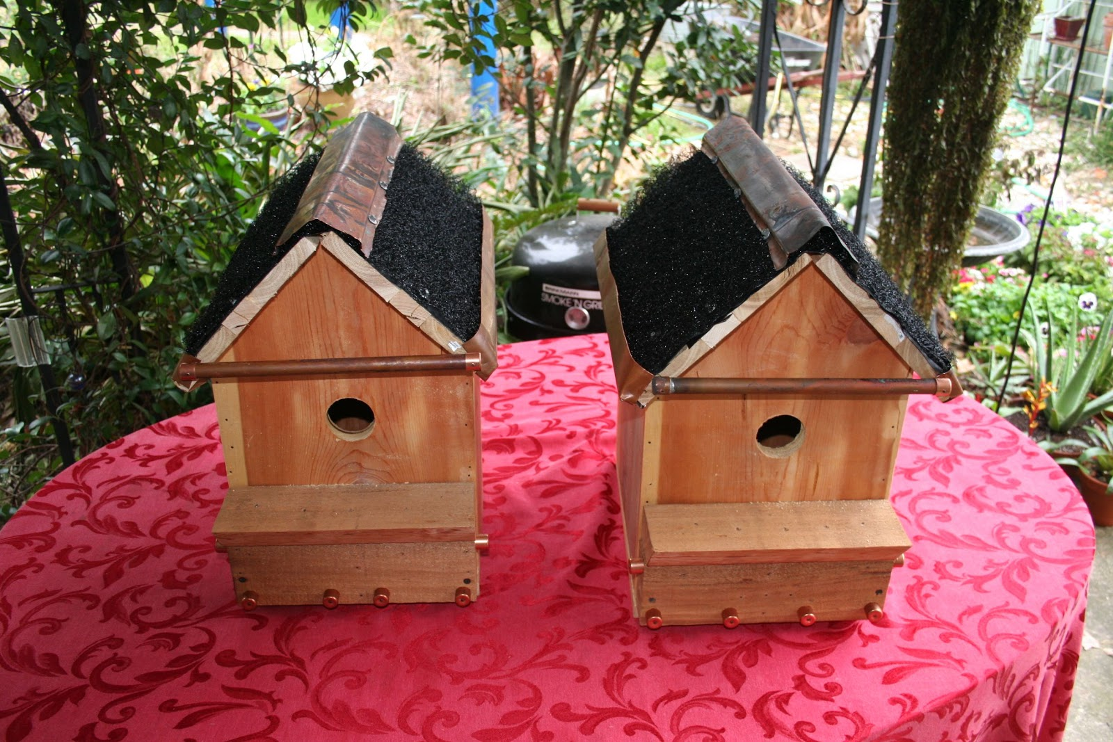 Kevin Songer Green Roofs For Birdhouses Doghouses And