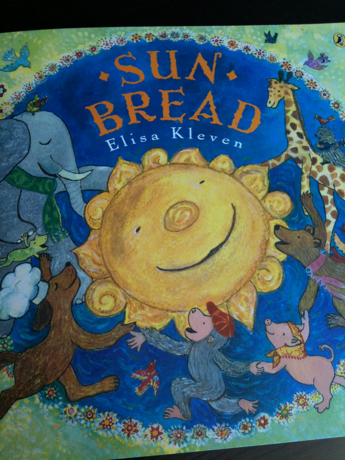 Happy Birdycake Sun Bread By Elisa Kleven