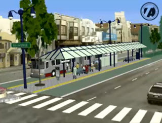 AC Transit Bus Rapid Transit: San Francisco video of Van Ness Av