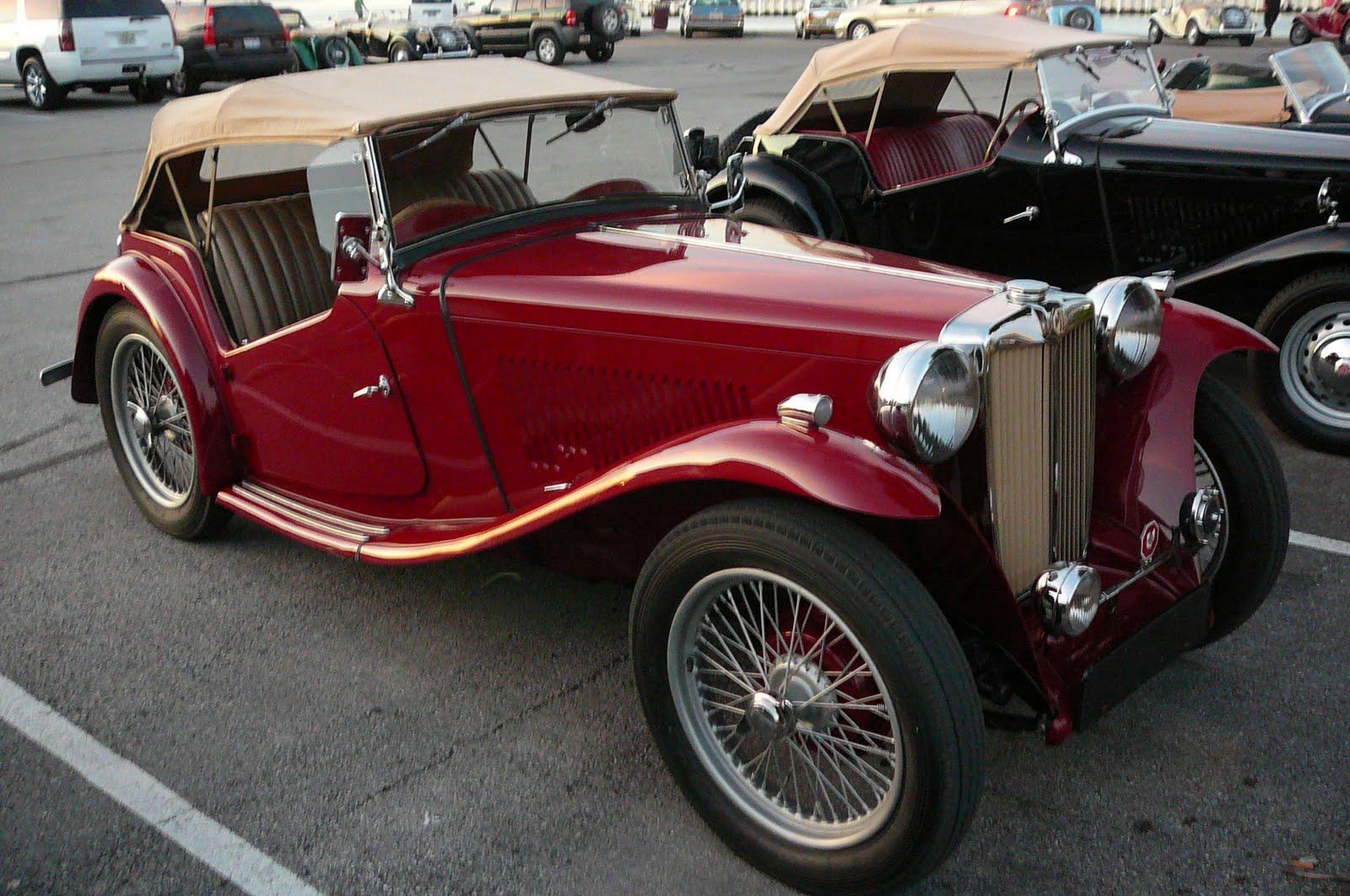Vintage Mg Car 79
