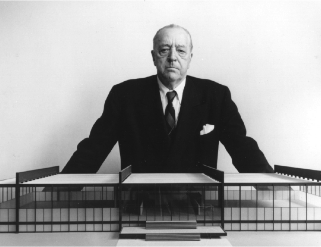 farnsworth hosue interior mies van der rohe plano illinois 1951 ludwig mies van der rohe. Black Bedroom Furniture Sets. Home Design Ideas