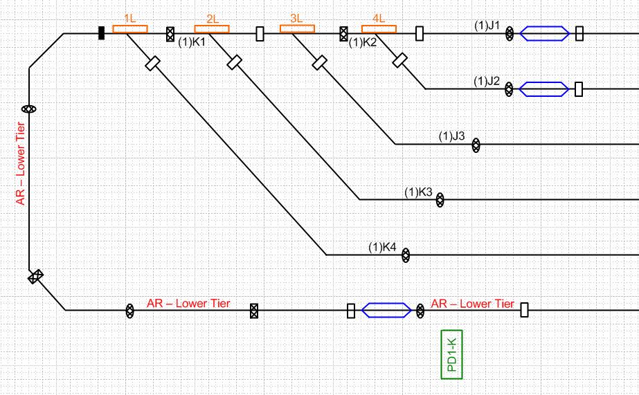 Average Model Railroader: Visio wiring diagrams