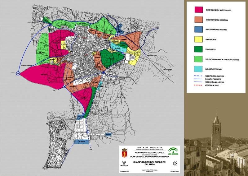 Zalamea La Real Mapa.Zalamea La Otra Mirada Zalamea La Real Cuenta Con Su Pgou