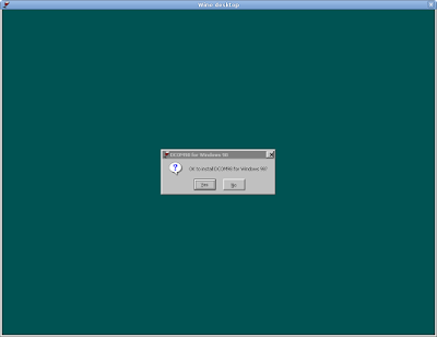 Microsoft Office 2000 on FreeBSD 7 with Wine