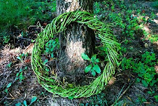 Make a grapevine wreath