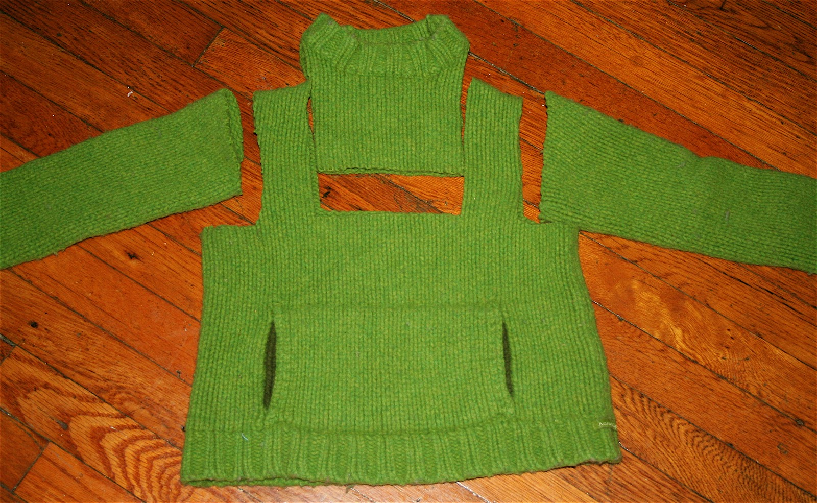 Old Wool Sweaters Projects
