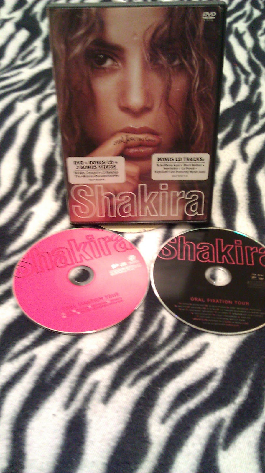 My Shakira Collections Dvd Vhs