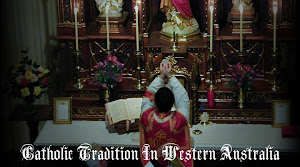 the extraordinary form of the roman rite in perth, western australia