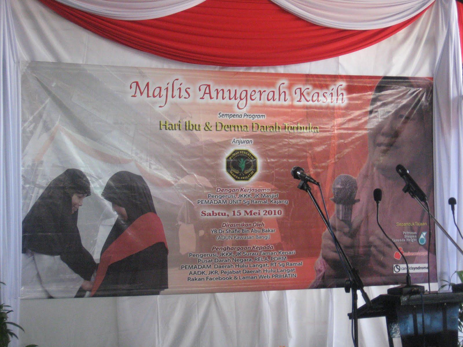 RUMAH PENGASIH WARGA PRIHATIN | Rumah Asnaf & Anak Yatim