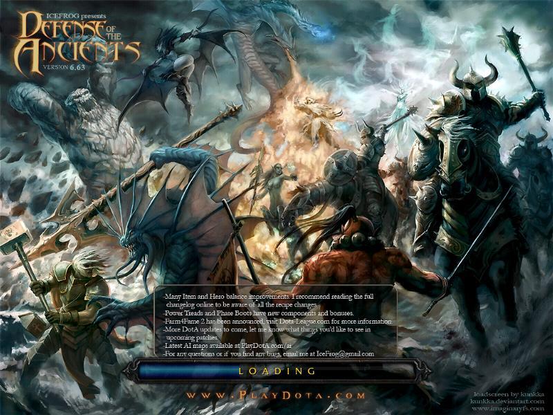 Warcraft map dota ai download free.