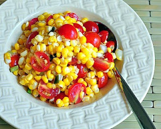 Fresh Corn & Tomato Salad