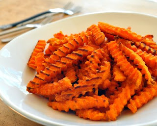 Frozen Sweet Potato Fries (Crinkle Cut Fries from McCain)