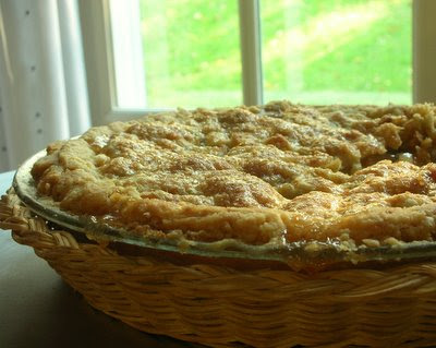 American Apple Pie, flaky, tender, sweet, delicious!
