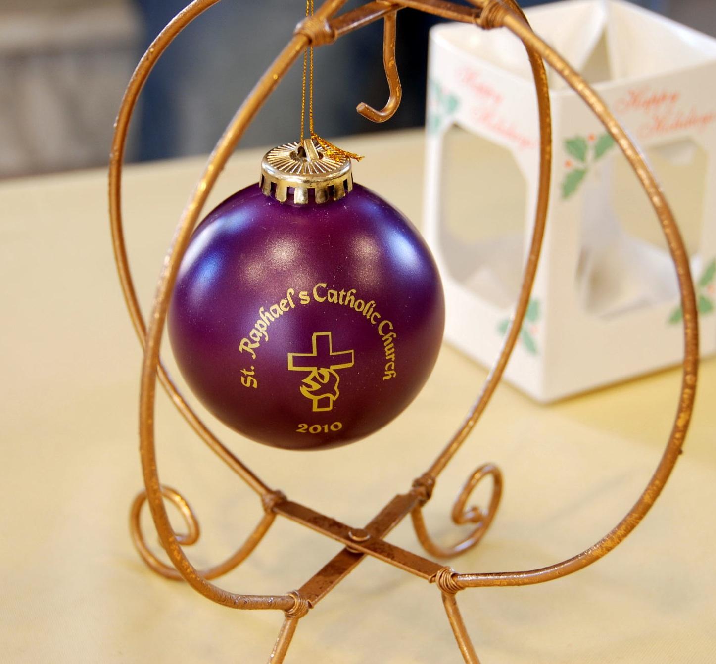 Saint Raphael Messenger: 2010 Christmas ornaments on sale