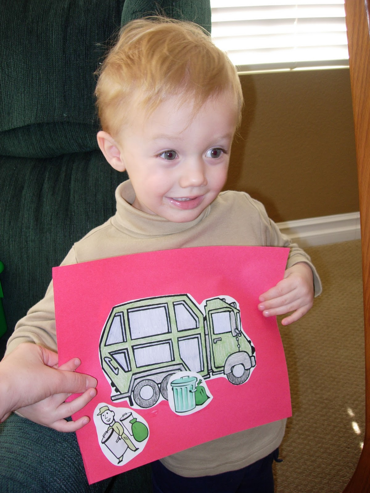 Lil Sprouts Preschool T Is For Truck