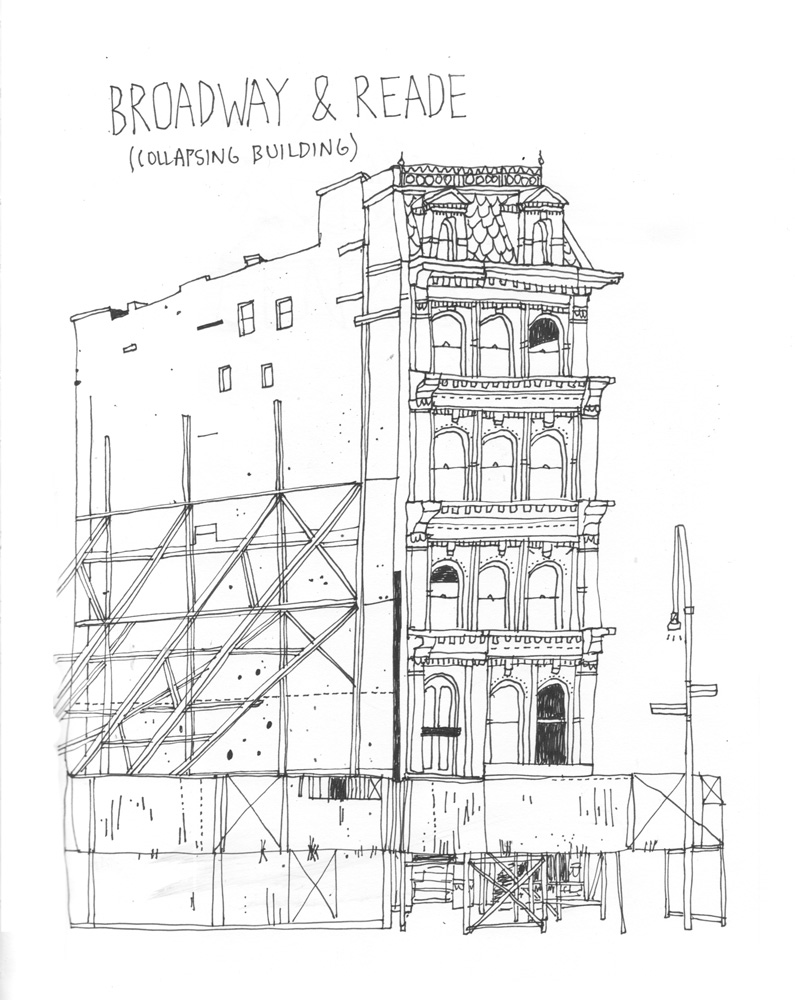Drawing All the Buildings in New York