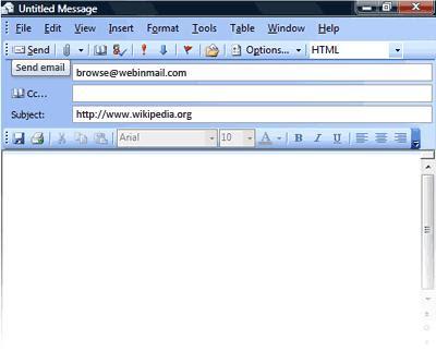 Microsoft outlook - Webinmail