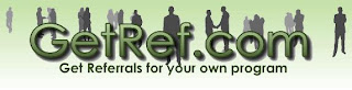 GetRef.com - Get Referrals For Your Own Programs