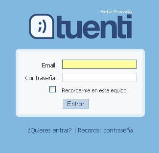 Tuenti social network