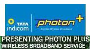 Tata Indicom Photon Plus Wireless Broadband Service