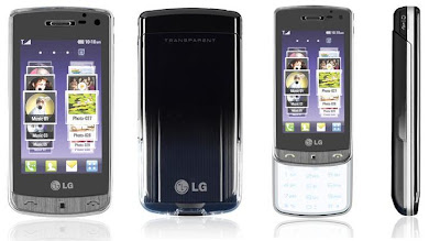 LG Crystal GD900 - World's First Transparent Touchpad Phone! 1