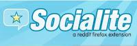Socialite_a reddit firefox extension