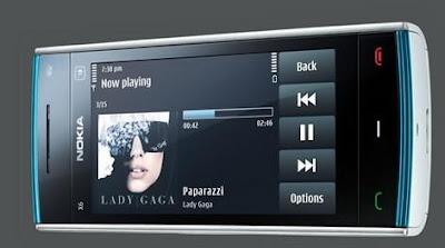 Nokia X6 cellphone