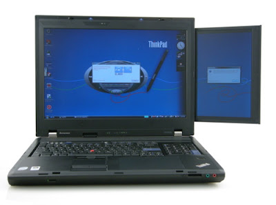 Lenovo ThinkPad W700ds Dual Screen Laptop overview