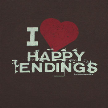 stories like ours have happy endings We're always being warned not to expect happy endings personally i like happy endings sad eventual ending did well to put the happy parts of the story.