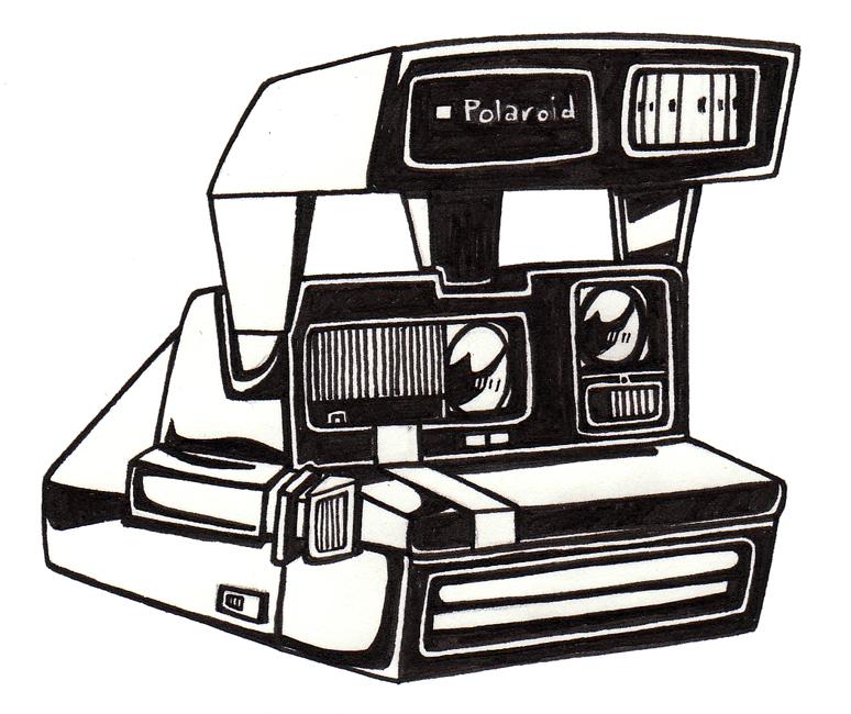 Caitlyn Harris Art Blog: Polaroid Drawing