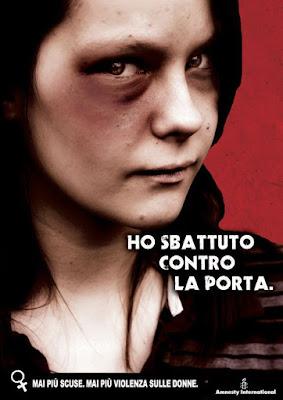 manifesto amnesty violenza sulle donne