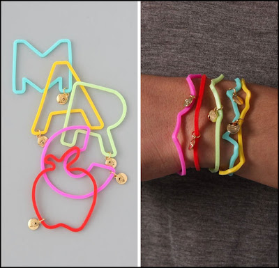 jelly bracelet di Marc Jacobs