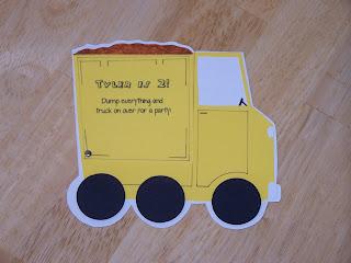 Dump Truck Party Food Ideas