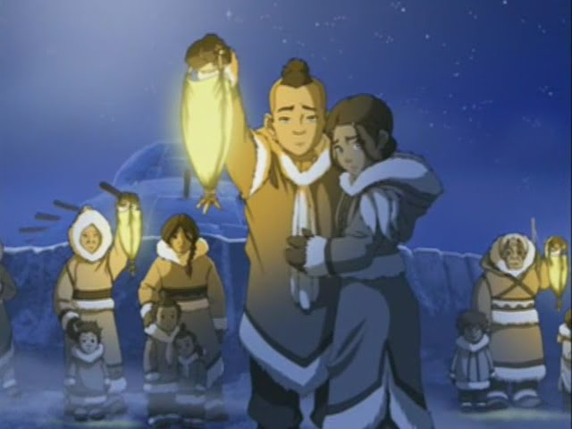 Frame from Avatar The Last Airbender.