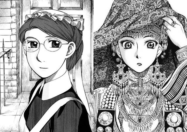 Emma and Otoyomegatari by Kaoru Mori.
