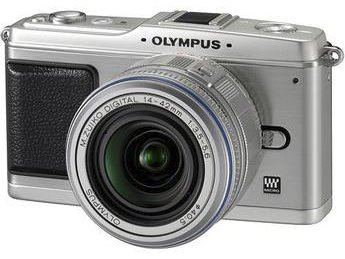 Olympus E-P1 Pen Digital Camera (Silver) w/ 14-42mm M.Zuiko Digital Lens (Silver)