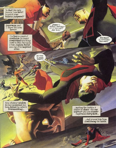 panel from Mark Waid and Alex Ross Kingdom Come