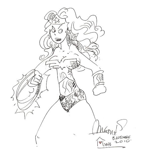 Wonder Woman by Sergio Aragones.
