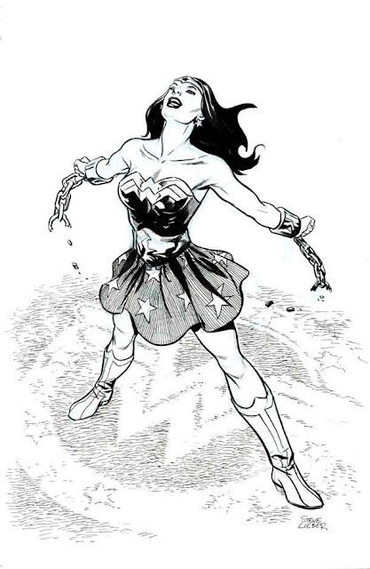 Wonder Woman by Steve Leiber.